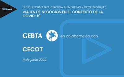 VIAJES DE NEGOCIOS EN EL CONTEXTO DE LA COVID-19