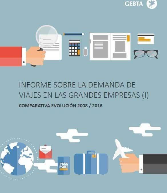 Informe sobre la demanda de viajes en las grandes empresas.